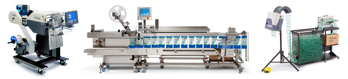 Autobag AB 180 Bagger | FAS SPrint Revolution SidePouch Food Bagger | AirPouch Pillow Separator